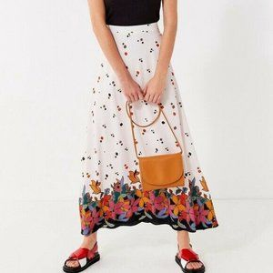 Urban Outfitters Raine Floral Maxi Skirt